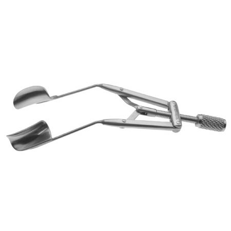 LIEBERMAN SPECULUM, SOLID BLADE, TEMPORAL, 15MM