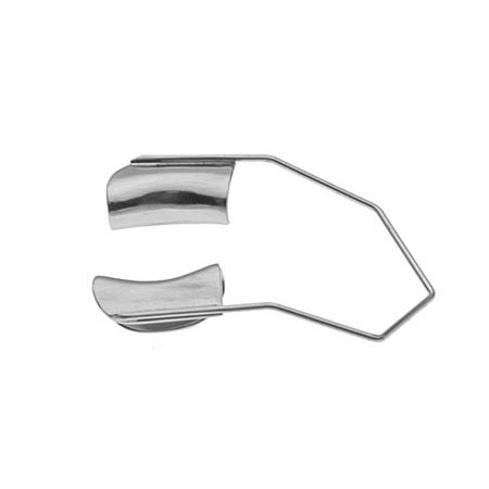 BARRAQUER WIRE SPECULUM SOLID, ADULT