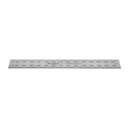 RULER, STAINLESS STEEL, 0.5MM MARKING