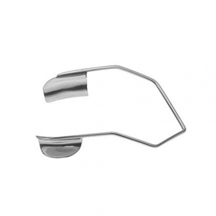 BARRAQUER WIRE SPECULUM SOLID, INFANT, 4MM 1