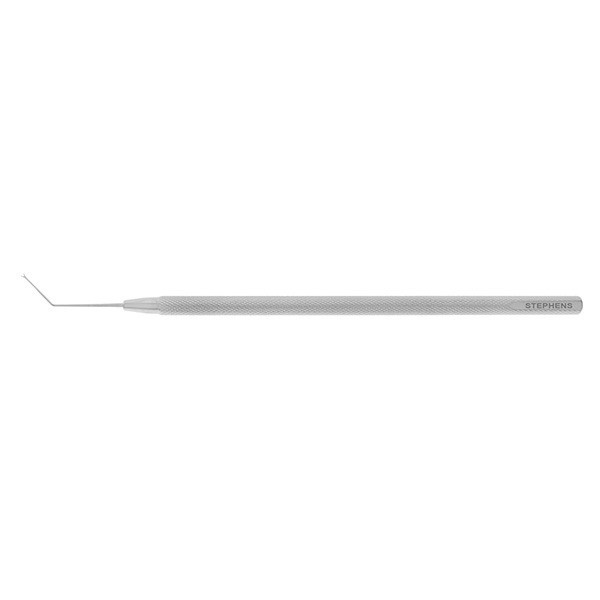Maltzman-Fenzl Lens Manipulator Hook, V Shaped, Angled