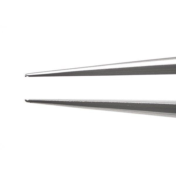 Pierse Corneal Forceps, 0.1mm, Extra Delicate, Straight