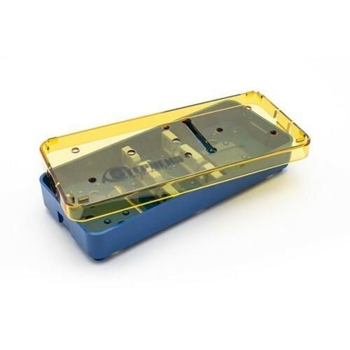 Plastic Instrument Tray, 2.5 x 6.0 x 0.75 (Silicone Bars)