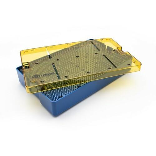 Plastic Instrument Tray, 6.0 x 10.0 x 1.5, Double Level