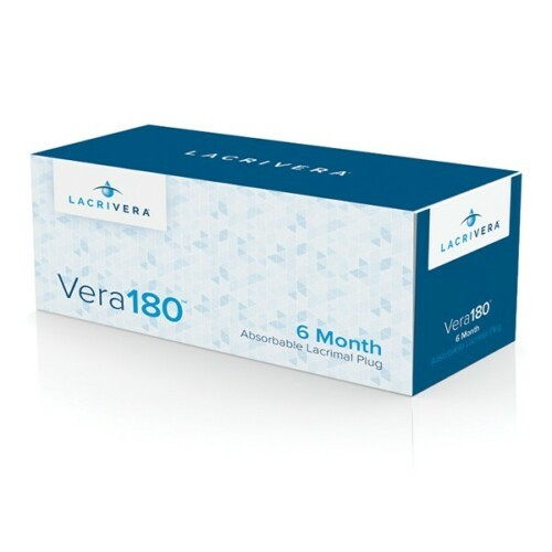 Vera180 Synthetic Absorbable Lacrimal Plugs (10 Pairs)